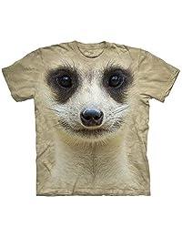 Meerkat Face Kids T-Shirt - Kids Small