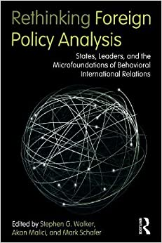 Book Rethinking Foreign Policy Analysis: States, Leaders, and the Microfoundations of Behavioral International Relations (Role Theory and International Relations) by unknown (2011)