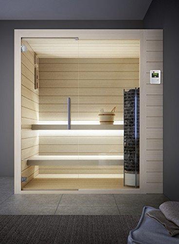 grandform Sauna Estufa Eléctrica 6 plazas seduti, o 2 sdraiati y 1 sentado. Tower Pro 2520 (cm). 250 x 200 x 208 H.): Amazon.es: Hogar