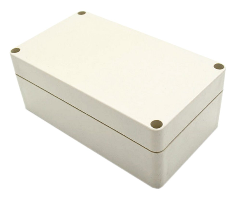 ABS Waterproof Project Box Junction Box Rectangle Project Enclosure Case from October Elf (115x88x55 mm)