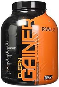 Rivalus Clean Gainer Protein Supplement, Chocolate, 5 Pound