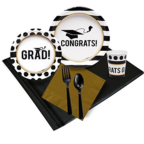 BirthdayExpress Graduation Party Supplies - Party Pack for
