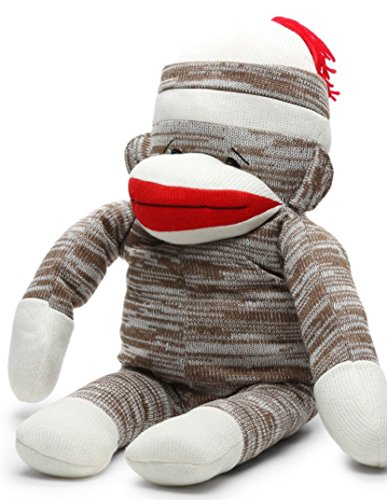 Peek-A-Boo Sock Monkey Plush Pillow 2-In-1 Great for Slee...