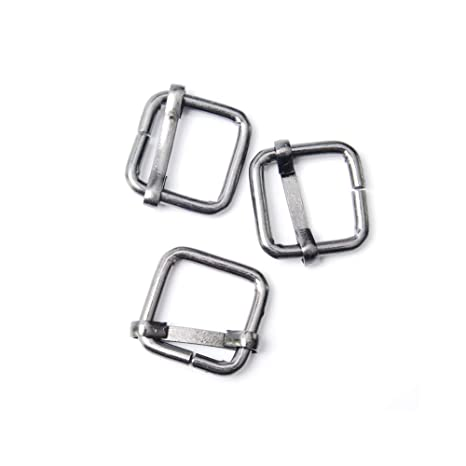 Paquete de 20 unidades de hebillas de metal deslizables de tres ...