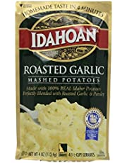 Idahoan Mashed Potatoes, Roasted Garlic , 4 Oz