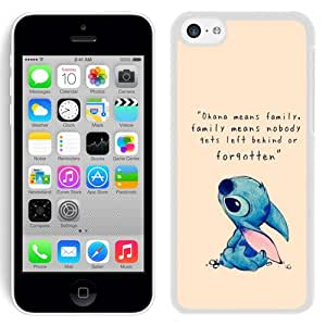 Beautiful and DIY Iphone 5c Case Design with Lilo And Stitch White Case for Iphone 5c Generation