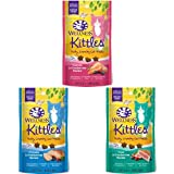 Wellness Kittles Grain Free Crunchy Natural Cat Treats Variety Pack - 2-Ounce Bag (Pack Of 3)