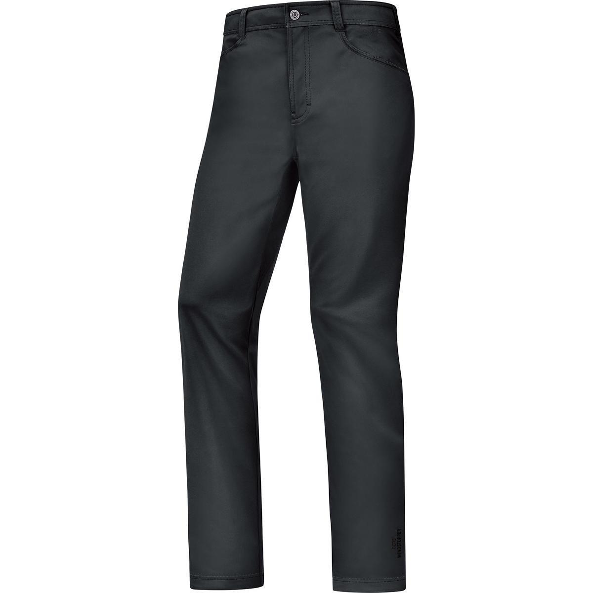 GORE WEAR Herren Hose und Shorts Lange Element Urban Print Windstopper Soft Shell Pants
