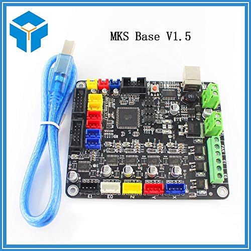 (GIMAX 3D Components Integrated Motherboard materinskaya Plata Compatible Mega2560&RAMPS1.4 RepRap Mendel Similar to MKS Base)