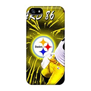 Unique Design Iphone 5/5s Durable Cases Covers Pittsburgh Steelers