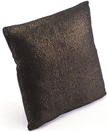 Zuo Metallic Pillow, Black Copper