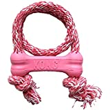 Puppy Kong Goodie Bone Treat Dispenser Toy with Rope (X-Small)
