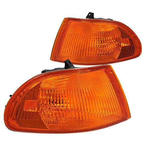 Spec-D Tuning LC-CV924AM-RS Honda Civic Dx Ex Lx 4Dr Signal Corner Lights Amber