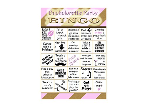 image relating to Printable Bachelorette Party Games identify : Bachelorette Bingo Video game - Bachelorette Social gathering
