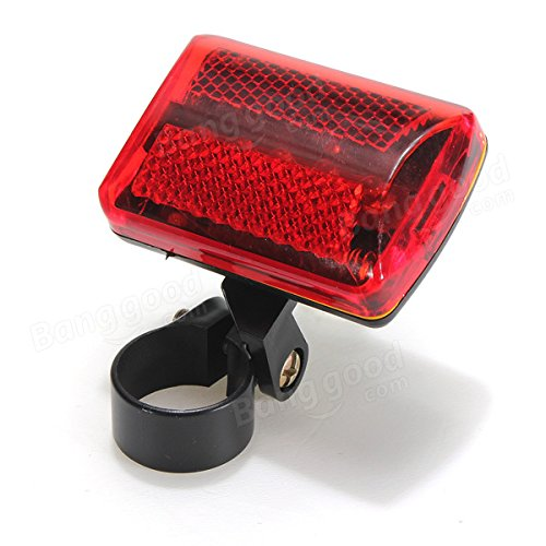 5 LED bike tail light bicycle red flash light rear lamp 7 mode by Freelance Shop SportingGoods (Image #4)