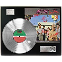 "ACDC DIRTY DEEDS DONE DIRT CHEAP PLATINUM LP LTD SIGNATURE RECORD DISPLAY ""C3"""
