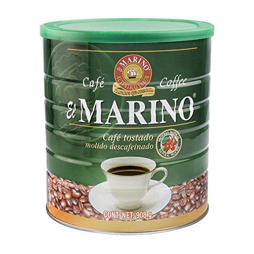 Café El Marino Café Descafeinado en Lata, 908 g