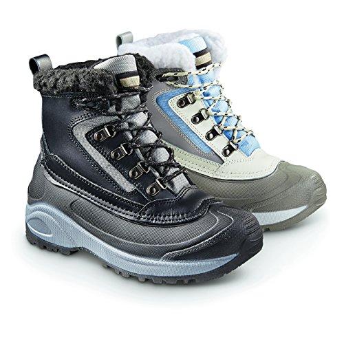 Chaussures De Snowridge Ii Bottes Dhiver Isolées De Guidage Des Femmes 600 Gram Bleu / Blanc