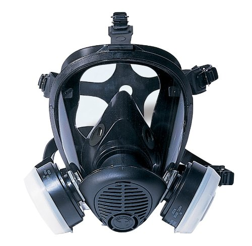 SAS Safety 7650-61 Opti-Fit Full-face APR Respirator, Medium