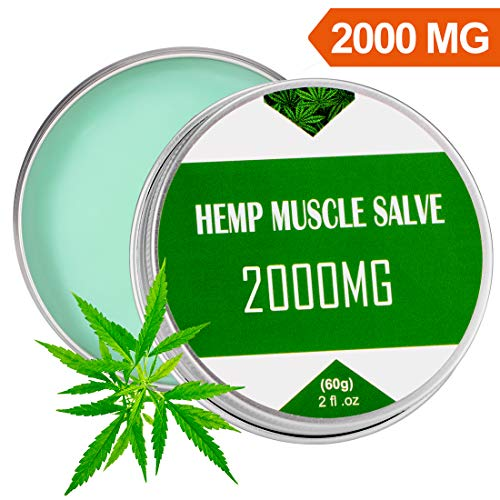 Hemp Cream for Pain Relief - 1000 MG - Relieves Muscle, Joint Pain - Lower Back Pain - Inflammation - Hemp Oil Extract with MSM - Arnica - Turmeric (Omega 3 6 9 Benefits And Side Effects)