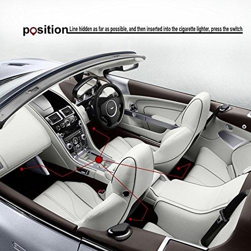 Thunder 12v 43 Led Car Interior Decorative Atmosphere Neon Light Lamp Best In Automotive