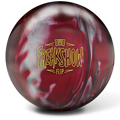 DV8 Freakshow Flip Bowling Balls, Red/Silver, 15 lb by DV8