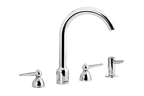 Hansgrohe 06553000 Monsoon Kitchen Faucet, Chrome - Touch On Kitchen ...