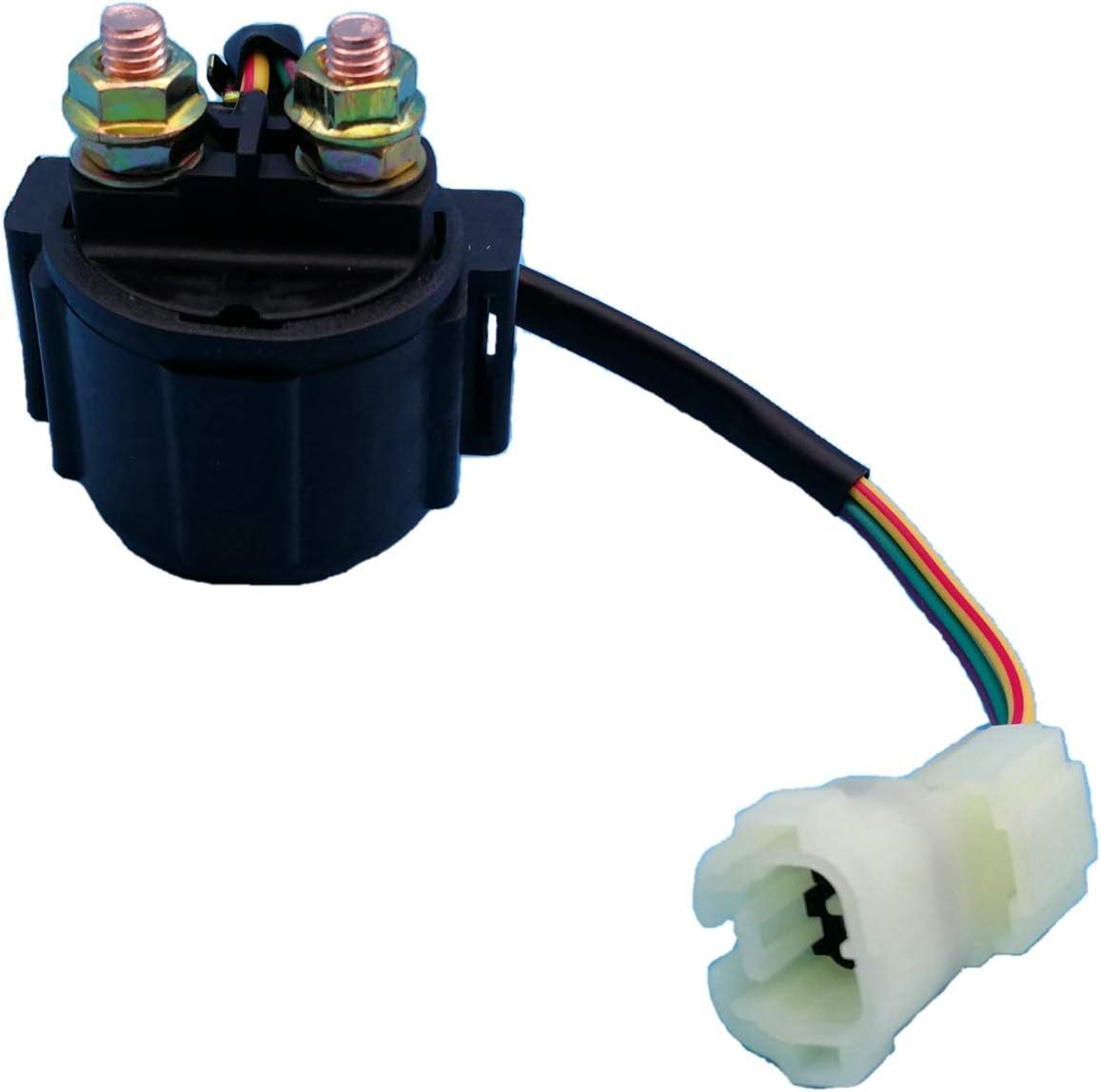 ROADFAR starter relay solenoid fit for 2005-2009 2011-2014 2016 Honda Recon 250 ER2350RE151DM