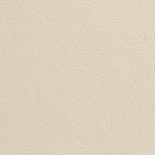 G382 Off White Matte Leather Grain Upholstery Faux Leather by The Yard - Off White Upholstery