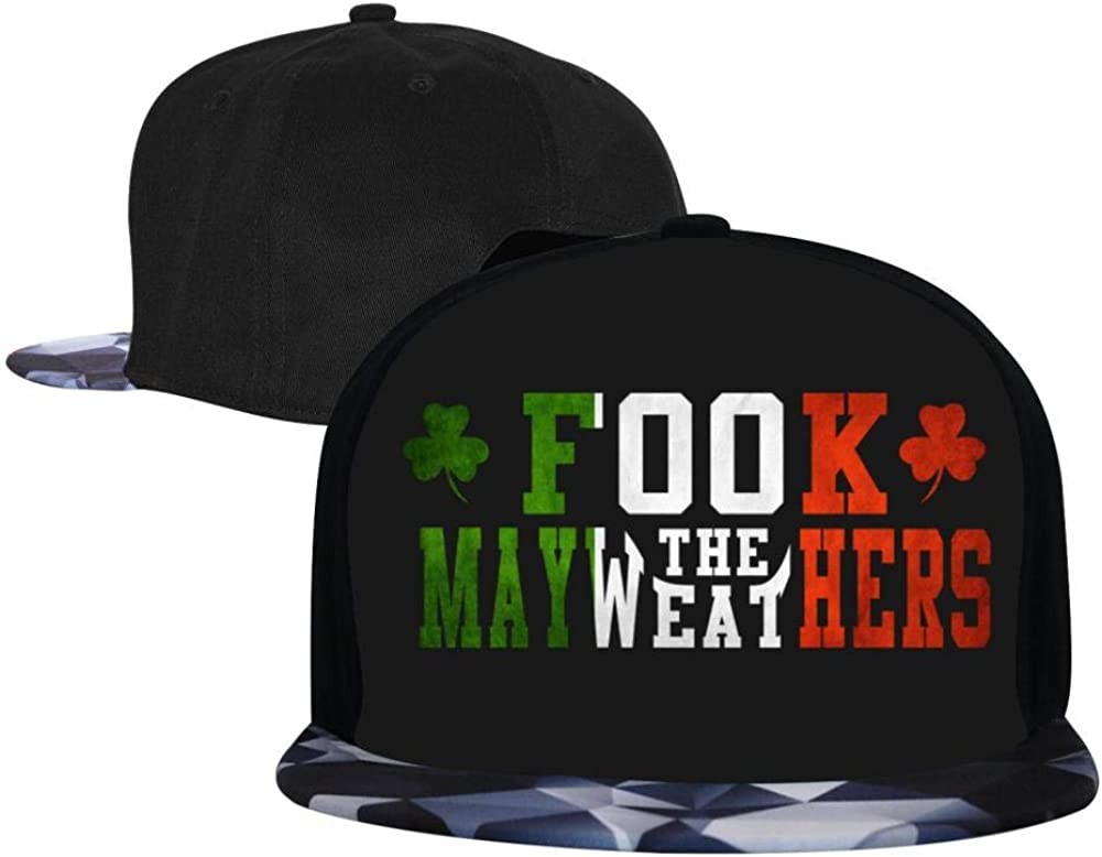 Adjustable Hip Hop Flat-Mouthed Baseball Caps EUYK77 Fook The MAYWEATHERS Mens and Womens Trucker Hats