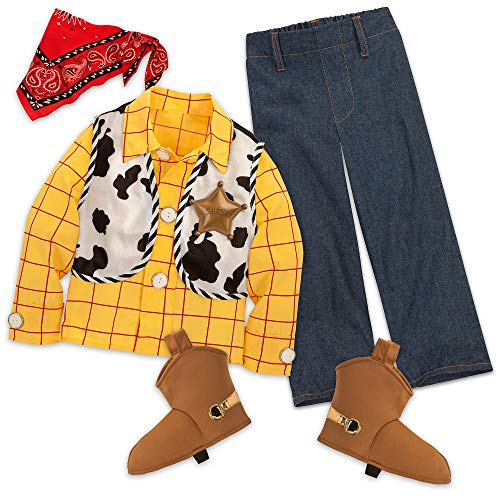 Disney Woody Costume Kids Size 3 Multi