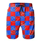 Oct USA Wrestling Logo Lined Mens Boardshorts Swim Trunks Tropical Beach Board Shorts Swimming Trunks