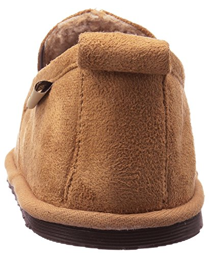 Chief Moccasin Men's Chestnut Slipper and Romeo Plush Western Indoor Outdoor qwfAg66px