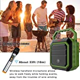 Portable Pa System Speaker with Wireless Handheld