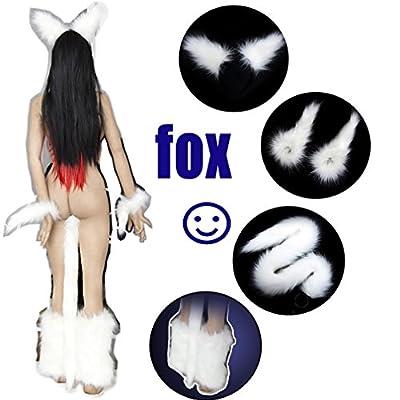 Mini.k fox's tail cartoon Anal plug