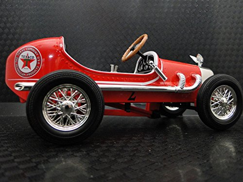 (Collector Pedal Car Vintage Ford Formula F 1 Indy 500 Grand Prix 18 GP 24 GT Race Antique Hot Rod Auto Racing Midget T Model 40 1966 Concept Racer Art Classic Metal Collectible NOT Child Ride On Toy)