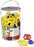 Wilton 50 Piece ABC & 123 Cookie Cutter Set