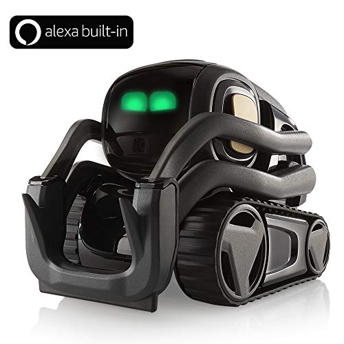 Vector Robot by Anki, A Home Robot Who Hangs Out & Helps Out, With Amazon Alexa Built-In]()