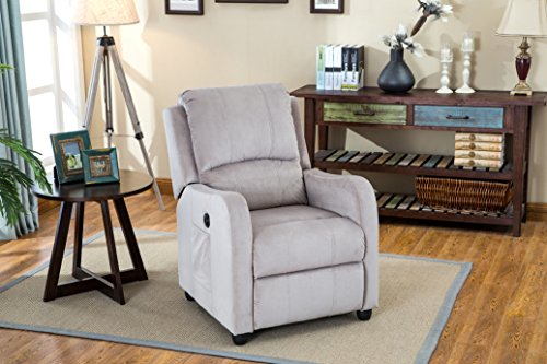 Myco Furniture Aria Velvet Taupe Power Recliner (Chair Aria)