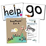 Snapwords® List A Teaching Sight Word Cards
