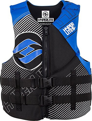 Hyperlite Indy CGA Wakeboard Vest Black/Blue Mens Sz M by Hyperlite