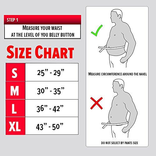 The Shred Belt Waist Trimmer Belt, Belly Fat Burner, Weight Loss Belt, Spot Reduction Belt, Waist Slimmer, Waist Trainer, Shaper and Toner