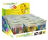 MosquitNo Citronella Wristband Variety Pack, Assorted Colors