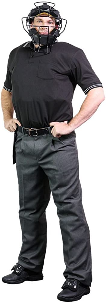 ブラックアウトTees Champro審判VarsityキットwithマスクChestプロテクター脚ガードセットVarsity Umpireキット ブラック One Size