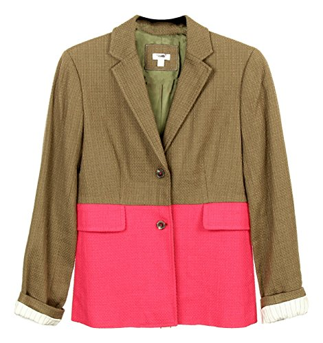 Crew Blazer J - J Crew Dual Color Blazer in Brown and Pink Sample New Size 6
