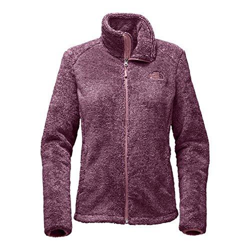 Crushed Violets - The North Face Women's Osito 2 Jacket - Crushed Violets & Foxglove Lavendar Stripe - S