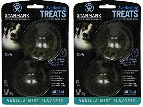 Everlasting Treat Refills, Vanilla Mint, 2 Pack of 2 (4 Treats Total) ()