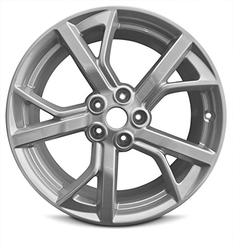 Road Ready Car Wheel For 2012-2014 Nissan Maxima 19 Inch 5 Lug Gray Aluminum Rim Fits R19 Tire - Exact OEM Replacement - Full-Size Spare