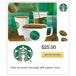 Starbucks E Gift Card