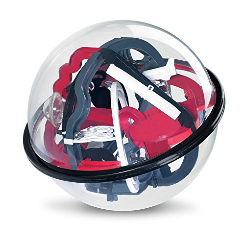 Sharper Image Amazing Educational Space Mission Globe Maze Children's Toy 80 Different Obstacles for Hours of Fun, Durable & Lightweight, Helps Develop Essential Skills Fun 3D Labyrinth Activity ()